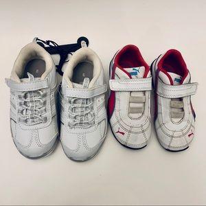 Big Girl Toddler Sneaker Shoe Lot Puma Danskin Now